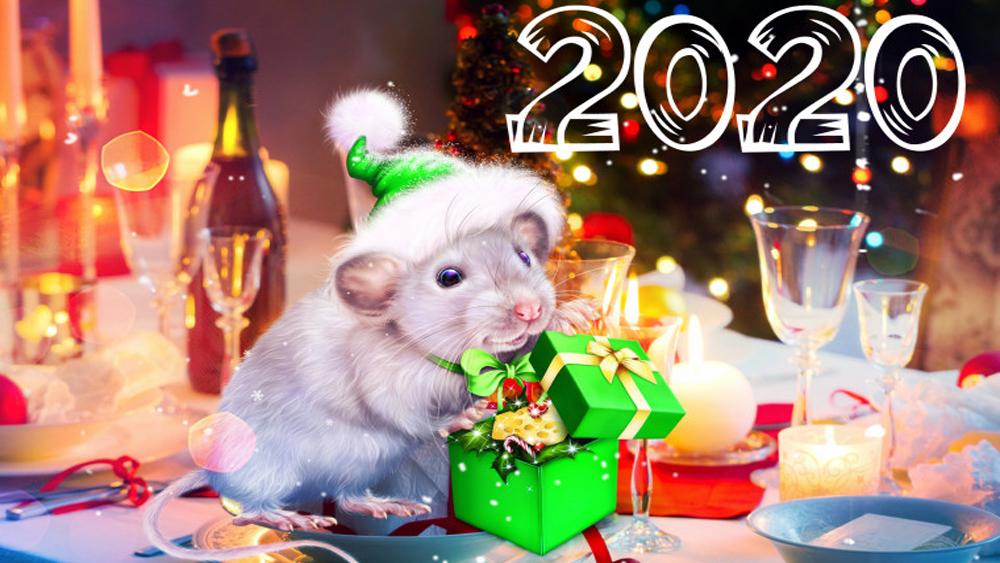 ПРИВЕТ 2020! C Новым Годом!